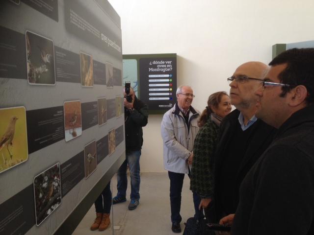 El consejero Echávarri inaugura el Centro de Información Ornitológica de Monfragüe