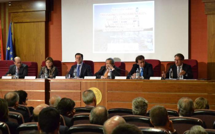 """Del Moral defiende el Corredor Central como """"espina dorsal"""" del transporte ferroviario en la península"""