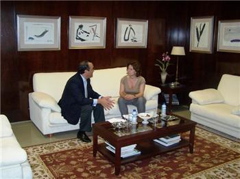 Dolores Aguilar incide en la importancia del Consejo Económico y Social de Extremadura
