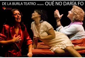 Diputación conmemora el Día Internacional de la Mujer con la representación de la obra 'Qué no daría Fo'