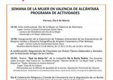 Valencia de Alcántara homenajea a Josefa Ortés Guapo en el Día Internacional de la Mujer