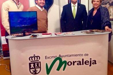 Pedro Caselles tilda de «auténtico éxito» la participación de Moraleja en la Feria del Toro de Olivenza