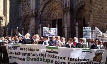 El Gobierno de Extremadura se suma a la concentración de Toledo para reclamar la extremeñidad de Guadalupe