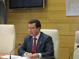 El presidente de la Asamblea de Extremadura visitará Moraleja el miércoles y se reunirá con los empresarios