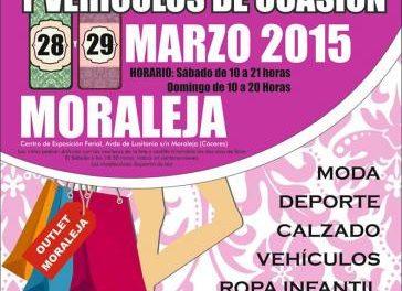 El centro ferial de Moraleja acogerá este fin de semana la IX Feria del Stock y el Vehículo de Ocasión