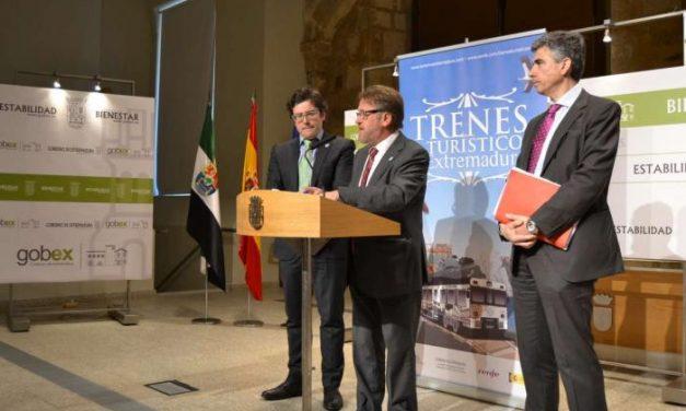 Fomento diseña rutas en tren para promocionar Valencia de Alcántara, Marvão y el Tajo Internacional