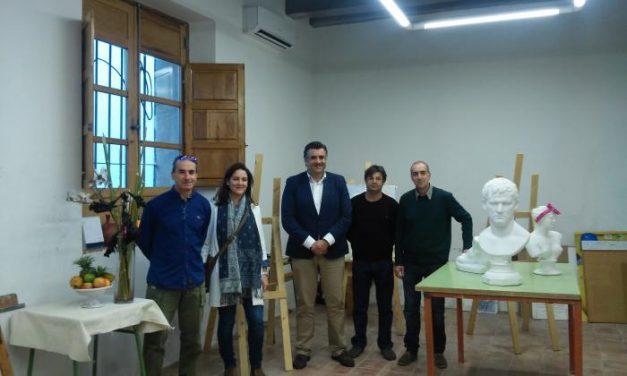 Un total de ochenta alumnos recibe formación en la nueva Escuela de Bellas Artes de Coria