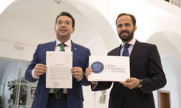 """Monago comparecerá en el Parlamento para trasladar """"el grado de cumplimiento del programa"""""""