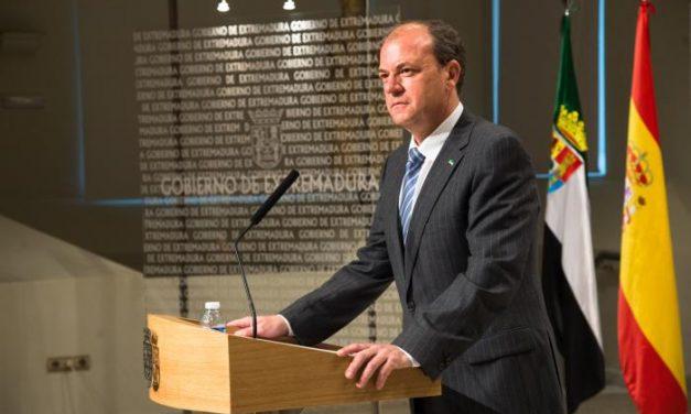 José Antonio Monago anuncia una tercera bajada de impuestos en la próxima legislatura