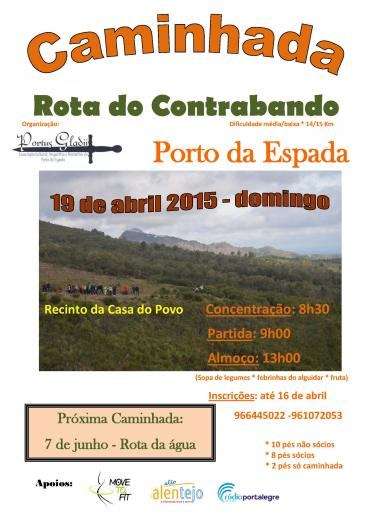 El concejo luso de Marvão acogerá el 19 de abril una ruta para recordar los itinerarios del contrabando