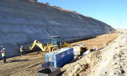 Monago inaugura el tramo de Coria de la autovía regional  EX-A1 cerrado por corrimientos de tierra