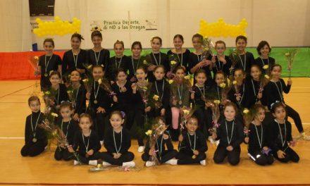 Las alumnas de la nueva Escuela de Gimnasia de Moraleja participan en la XVI Gimnastrada de Cáceres