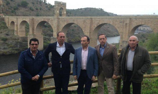 Diputación y CHT mejoran el entorno natural del Puente de Alcántara para potenciar el turismo