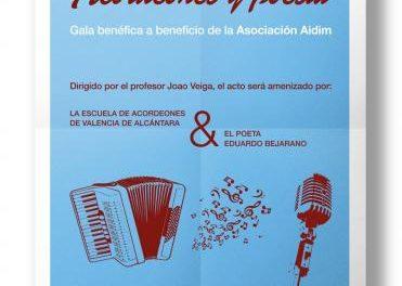 Valencia de Alcántara se prepara este sábado para la gala a favor del colectivo  AIDIM