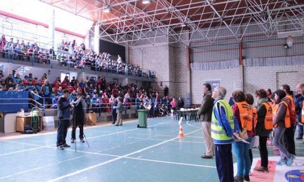 Un total de 330 deportistas participa en Coria en la fase eliminatoria de los XXXI edición de los JEDES