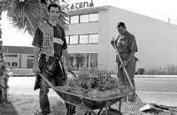 Aprosuba quiere seguir con el servicio de mantenimiento de parques y jardines en Almendralejo