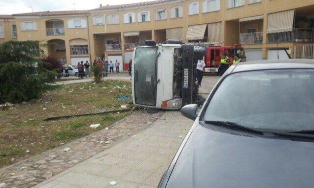 La explosión de una bombona en Coria se salda con dos heridas y cinco viviendas afectadas