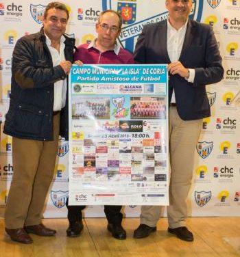 Veteranos del Atlético de Madrid y del Coria rendirán homenaje a los aficionados al fútbol con un partido