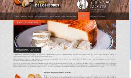 El queso de los Ibores protagoniza la DOP de abril en el programa de Cáceres, Capital Gastronómica