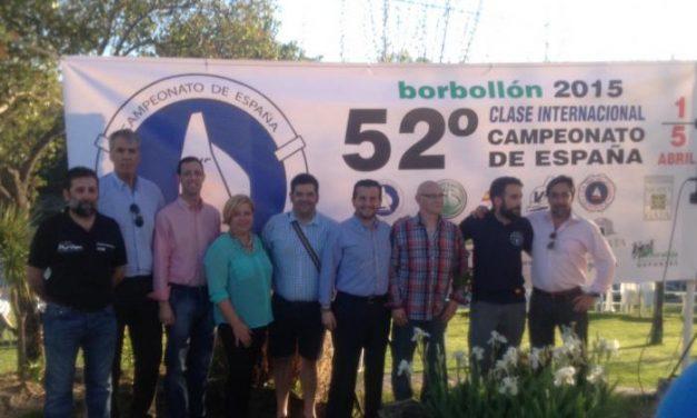 Pedrera manifiesta la importancia de actividades como el Torneo Nacional de Vela en el Borbollón