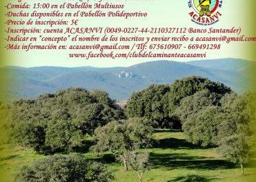 San Vicente de Alcántara se prepara para acoger la V Ruta Senderista Ciudad del Corcho el 5 de mayo