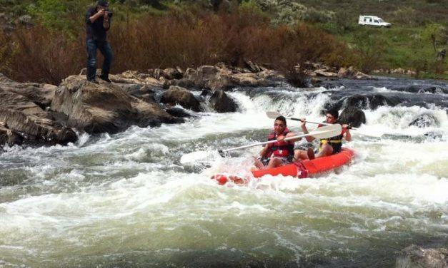 El bajo caudal del río Erjas obliga a suspender el descenso en piragua programado para este sábado