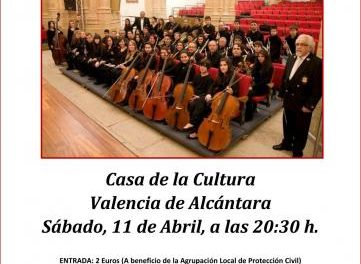 La Banda Sinfónica de Cáceres ofrecerá este sábado un concierto benéfico en Valencia de Alcántara