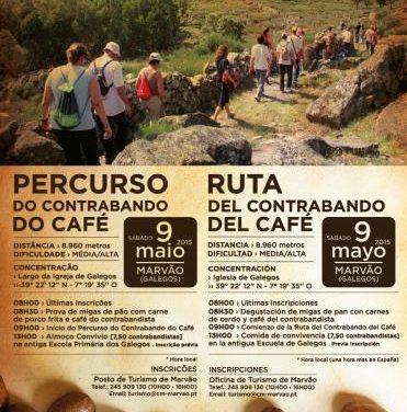 Marvão anima a los extremeños a participar el 9 de mayo en  la Ruta del Contrabando