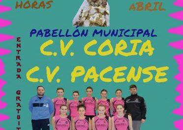 Equipos de Badajoz y Coria se enfrentan en el II Torneo de Voleibol Virgen de Argeme