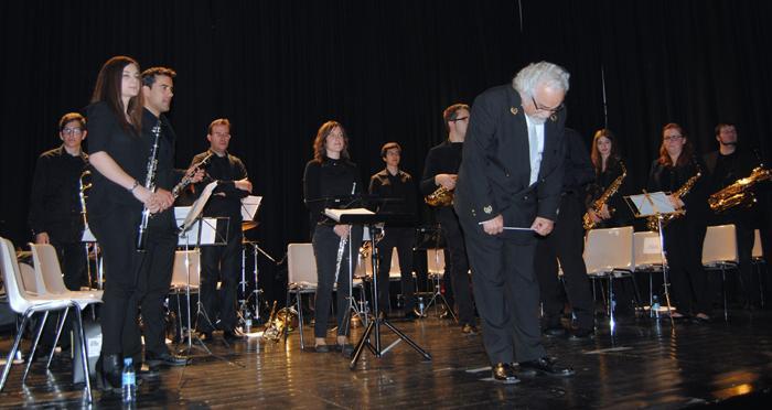 La Banda Sinfónica recauda 400 euros en Valencia de Alcántara a beneficio de Protección Civil