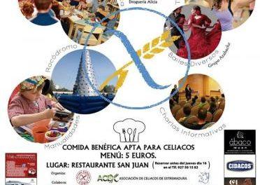La Asociación de Celiacos de Extremadura organiza unas jornadas de apoyo para celiacos en Coria