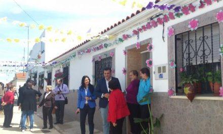 La pedanía de Coria Rincón del Obispo acogerá el II Festival de las Flores del 24 al 26 de abril