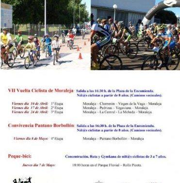 Moraleja celebra este viernes la segunda etapa de la vuelta ciclista enmarcada en el VII Mes de la Bicicleta
