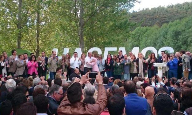 """Monago destaca la creación de empleo y servicios como ejes centrales  del """"contrato"""" con los extremeños"""