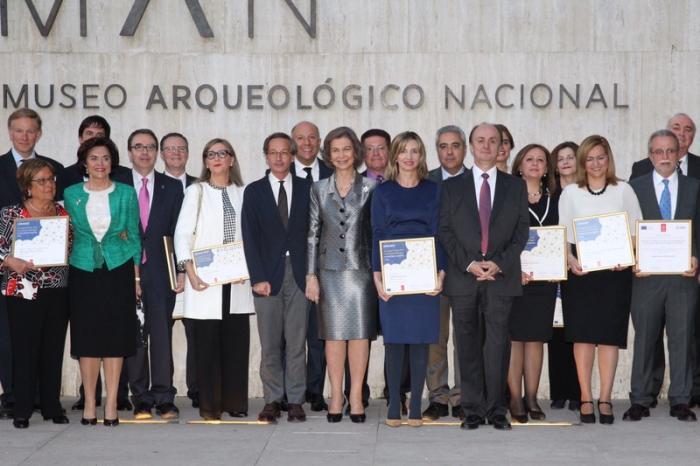 Trinidad Nogales recoge el Premio Europa Nostra de manos de la Reina Doña Sofía