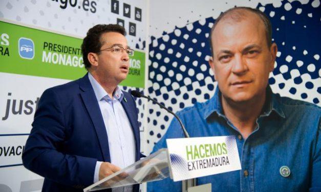 Monago solicita un debate con todos los candidatos a las elecciones autonómicas para conocer todas las propuestas