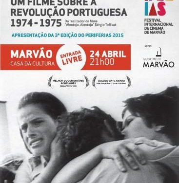 """Marvão acogerá la presentación del documental """"Outro País"""" en el Festival Internacional de Cine"""