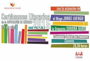 El  extremeño Carlos Almoril amenizará este martes la gala del Premio de Cuentos «Ciudad de Coria»