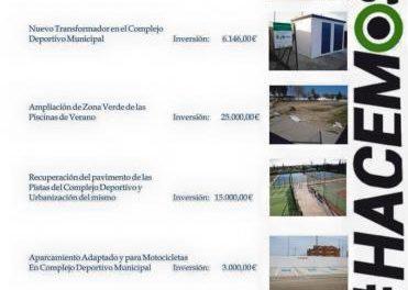 Moraleja destina esta legislatura más de 630.000 euros para mejorar las instalaciones deportivas