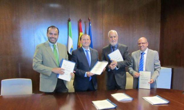 Extremadura y Adif firman el contrato para el desarrollo de las vías verdes de Monfragüe, La Jayona y Vegas Altas
