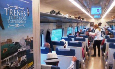 Las experiencias en Trenes Turísticos de Extremadura atraviesan su ecuador con lleno total