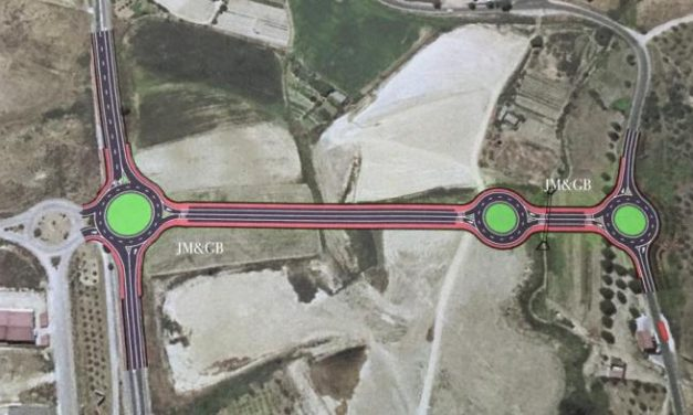 Ballestero confirma que este mismo año se mejorará el acceso a Coria desde la carretera de Montehermoso