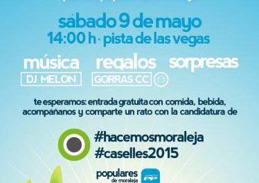 El PP de Moraleja anima a los jóvenes a conocer a sus candidatos a las elecciones  en un mitin este sábado
