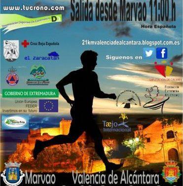 Valencia de Alcántara y Marvão ultiman los preparativos de la I Media Maratón
