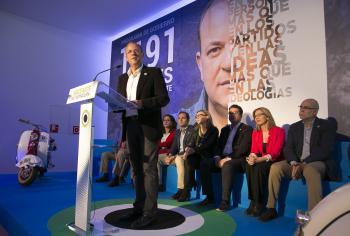 Monago anuncia que en 2019 Extremadura tendrá el PIB más alto de la historia de la región