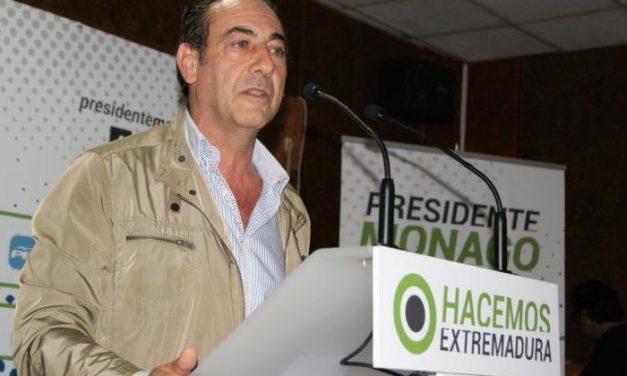 El Secretario General del PP asegura que los extremeños son los protagonistas de las políticas de Monago