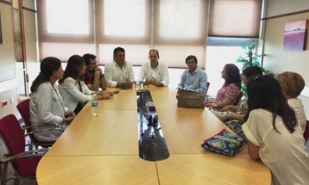 Hernández Carrón destaca la vuelta a la normalidad del servicio de oncología del Hospital de Coria