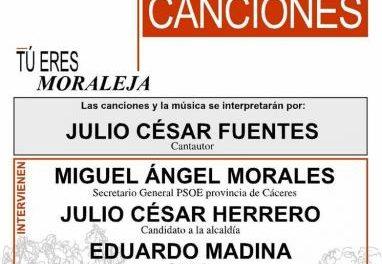 El diputado Eduardo Madina acompañará este sábado en Moraleja al candidato del PSOE en un mitin