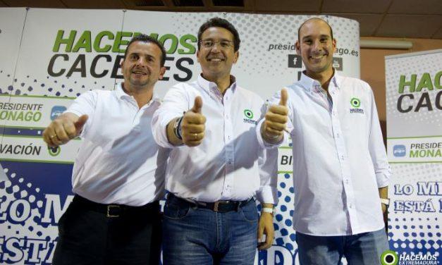 El PP de Moraleja da las claves de su programa electoral acompañado por Fernando Manzano