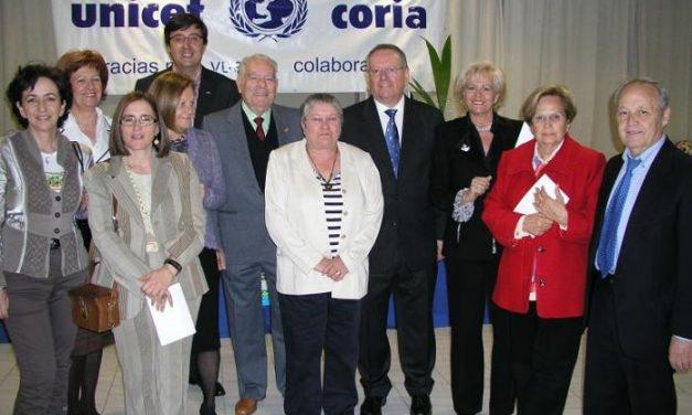 Unicef Coria recauda unos 2.500 euros en la cena benéfica a la que asistieron 103 personas